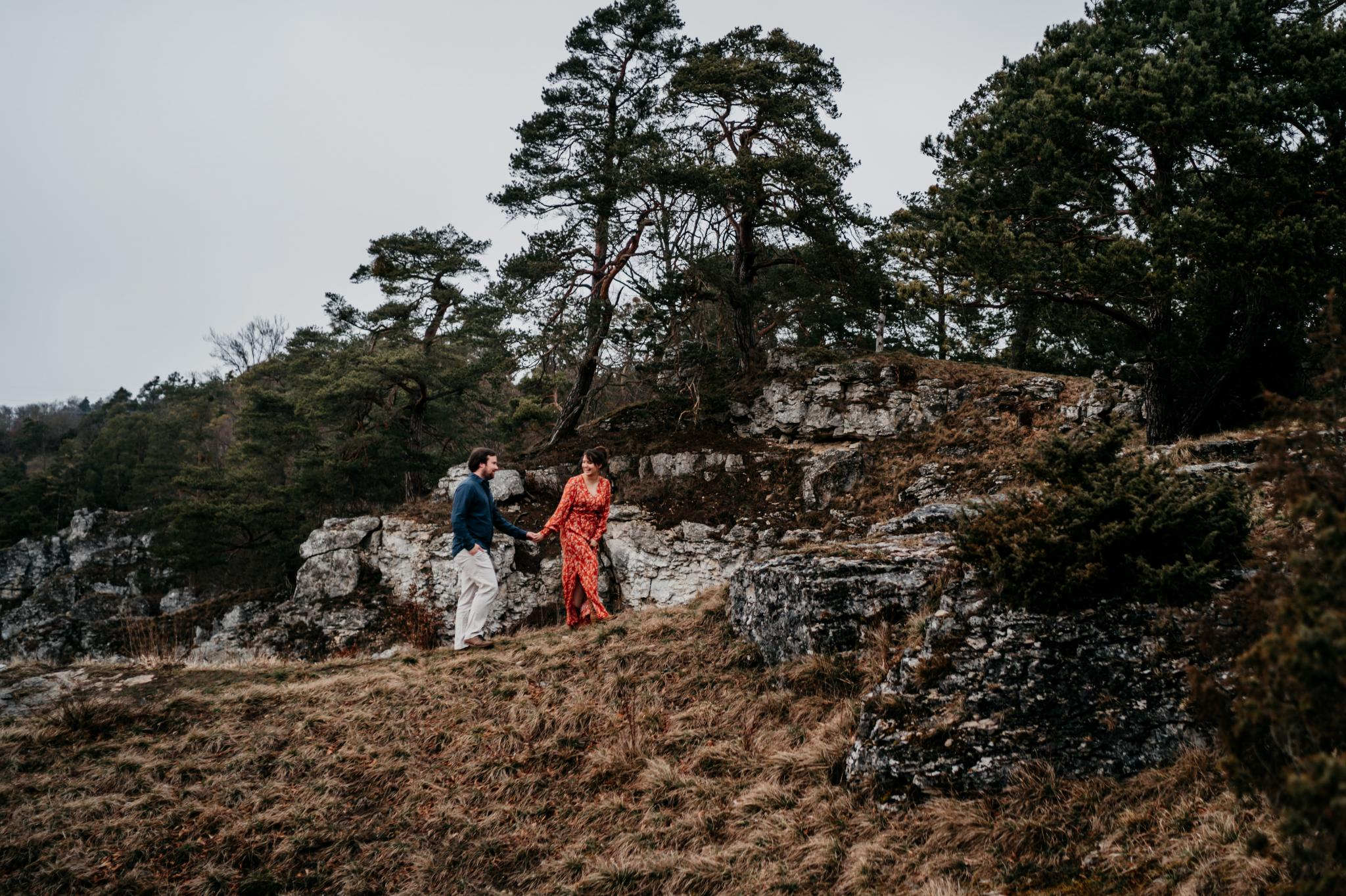 Moody Cliff Shooting Sandsteingebirge