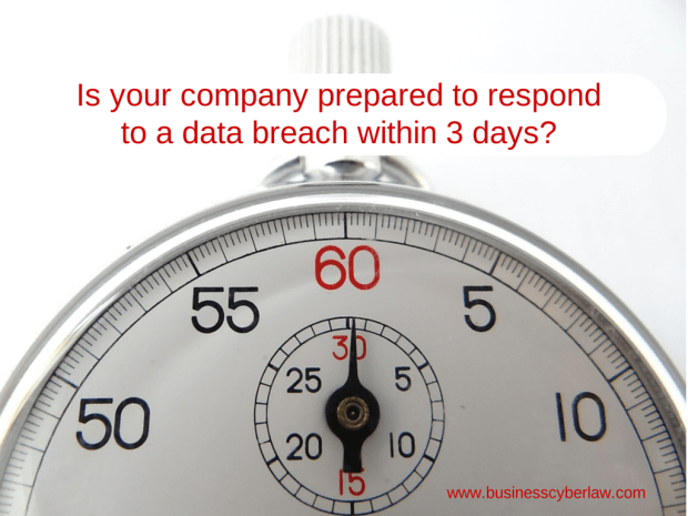 Is your company prepared to respond to a