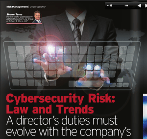 Will Officers & Directors Be Held Legally Responsible for Companies' Data Breaches and Cybersecurity Incidents?