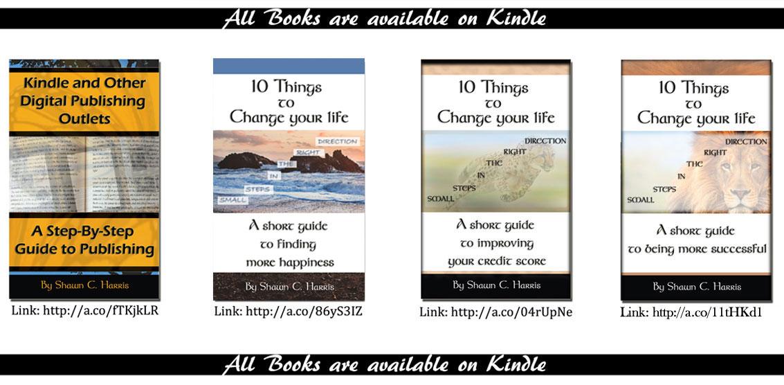 Shawn Harris Books
