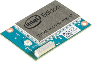 Intel Edison image courtesy of SparkFun Electronics