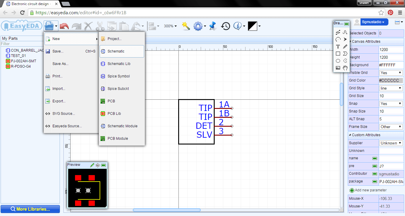 Getting Started with EasyEDA Part 2: Schematic Capture ...