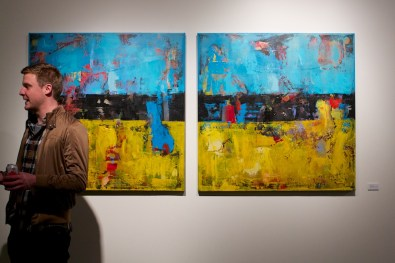 shawn mcnulty hay diptych gallery show