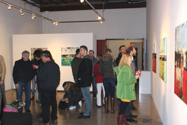 art opening gallery reception shawn mcnulty