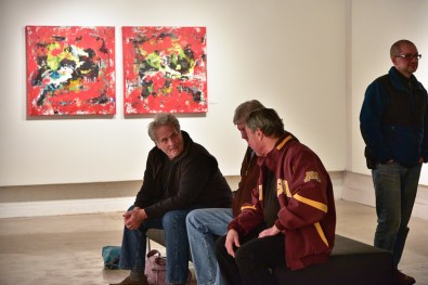 Shawn McNulty Exhibition Red Painting Minneapolis