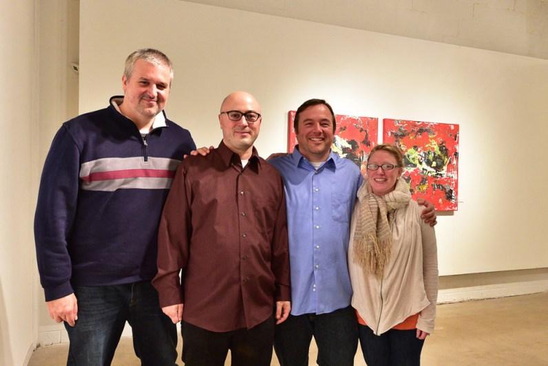 Shawn McNulty Friends Art Opening Reception