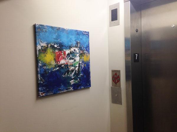 700 Central Lofts Minneapolis Floor 7 Elevator Restoration
