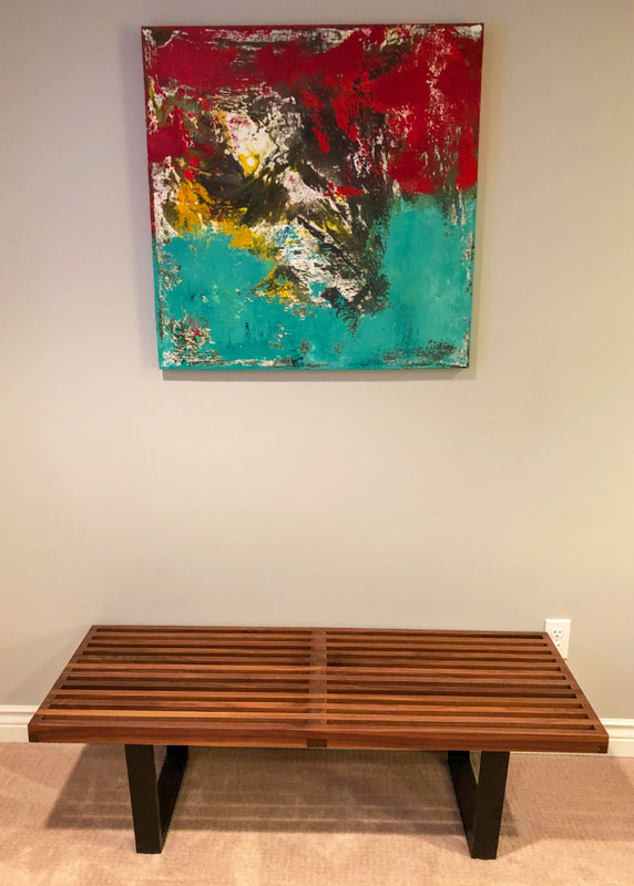 McNulty Painting Labrador Abstract