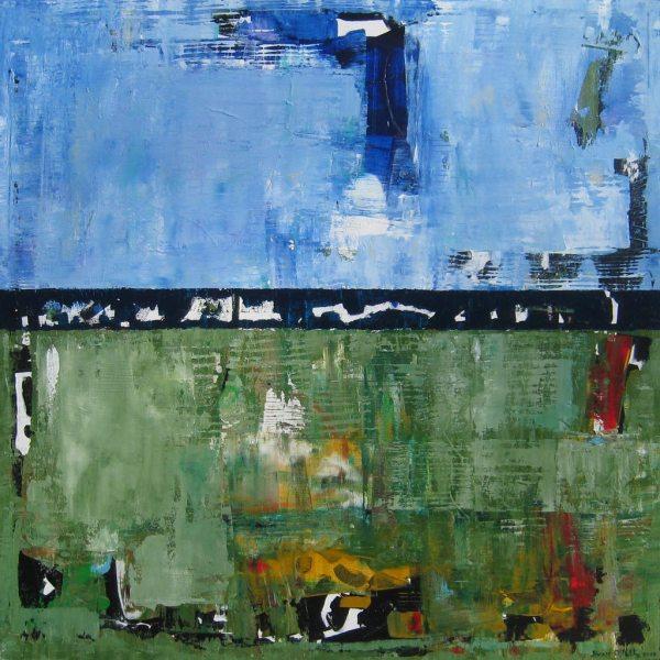 Matthew Green Blue Abstraction Art