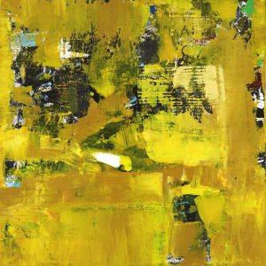 Waiter Restaurant Waitress Yellow Abstract
