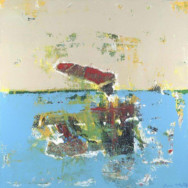 Basquait Painting Art Crown Modern Artist