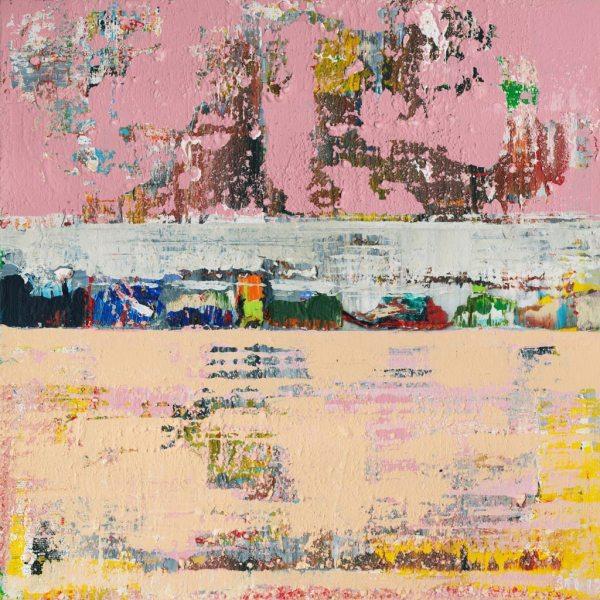 Dogbane Hemp Plant Poisonous Pink Abstract Art