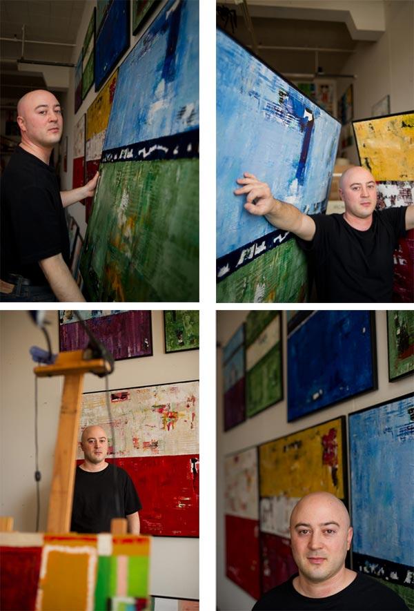 Shawn Mcnulty Artist Studio Artawhirl