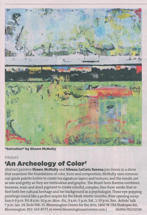Vitamn Archeology Color Art Exhibition Gallery Review Minneapolis