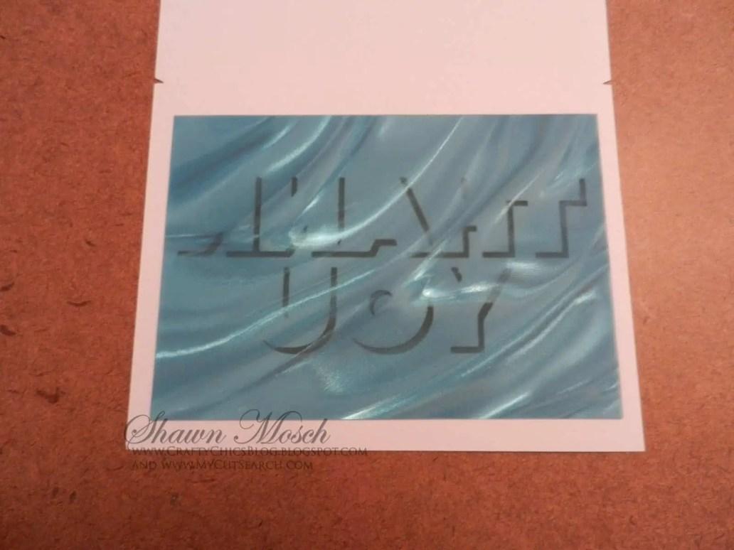 Card Cricut Design Space