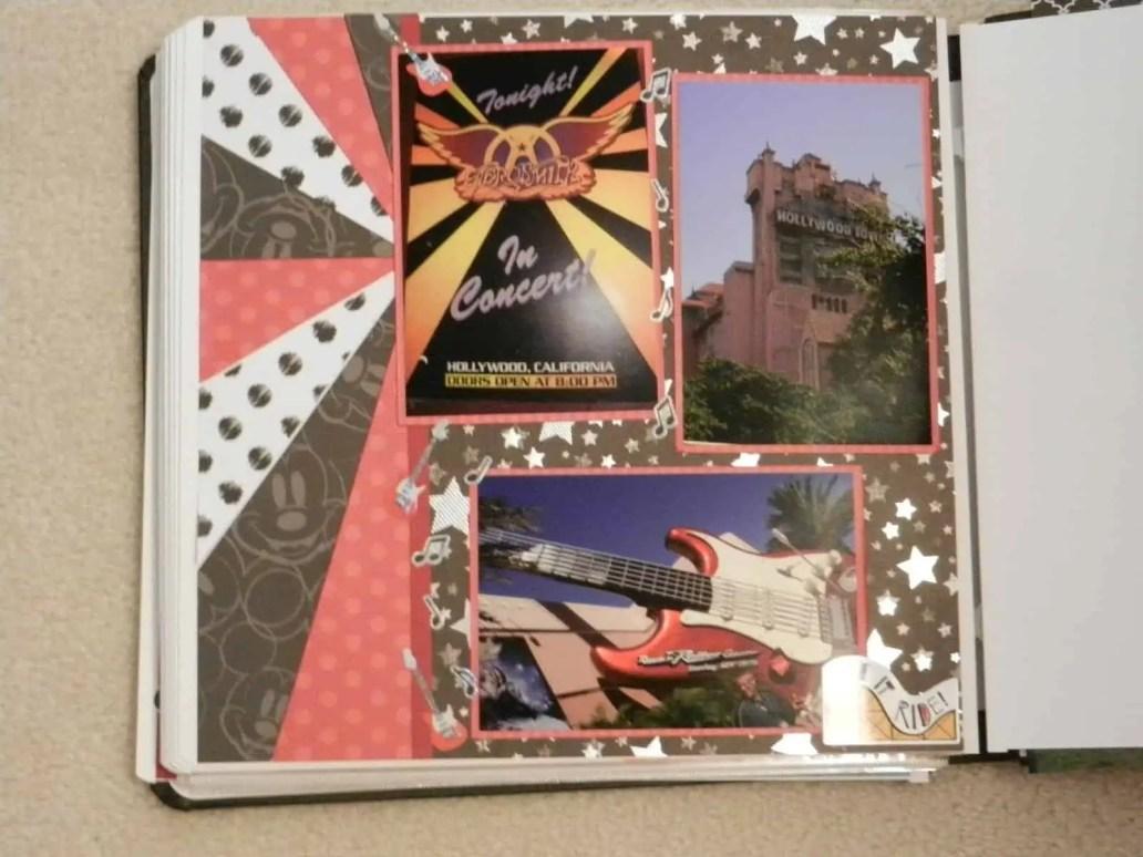 Sunburst scrapbook layout