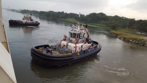 Tug boats for the Panama canal