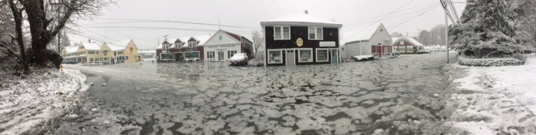 Duxbury Office Under Water