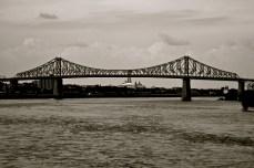 Jacques Cartier Bridge BW
