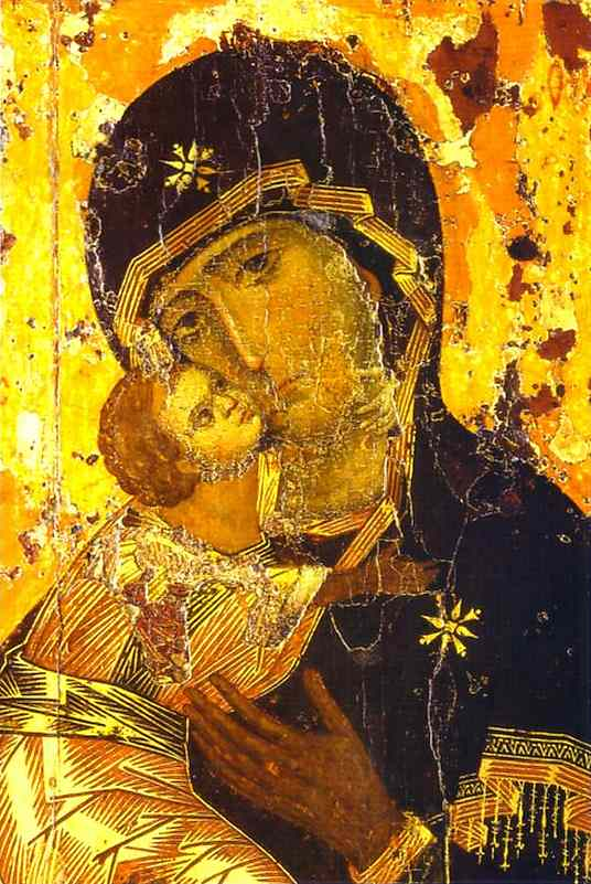 Icon of the Theotokos and Christ by Vladimir