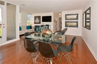 35 MERTON STREET - SUITE #606 - DINING ROOM