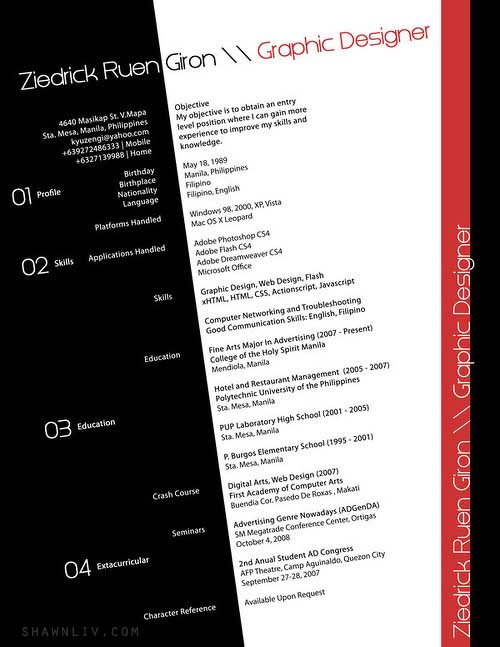 Top 25 Creative And Outstanding Resume CV Samples