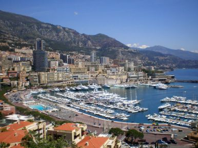Best Mediterranean cruises - View of the port in Monaco