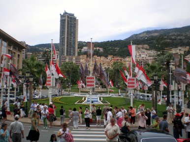 In front of Monte Carlo