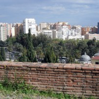 A view of Malaga from Alcazaba