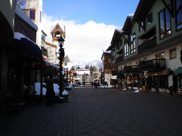 Vail, Colorado in the snow