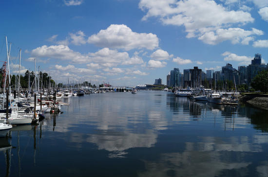 BPO 2013 Vancouver Harbor on a Sunny July Day