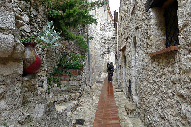 An alley in Eze France