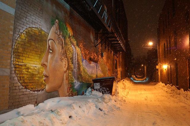 Montréal Québec - Street art in Quebec