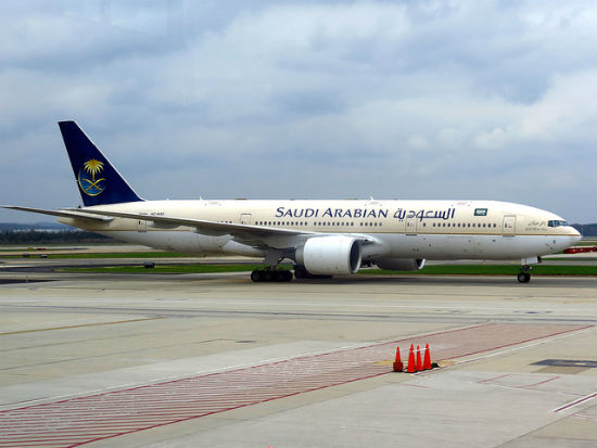 Saudi Arabian Airlines alcohol