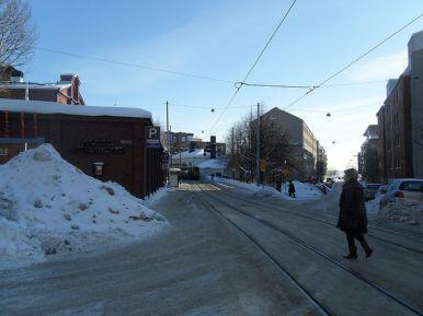 Gay Helsinki - Tram Stop
