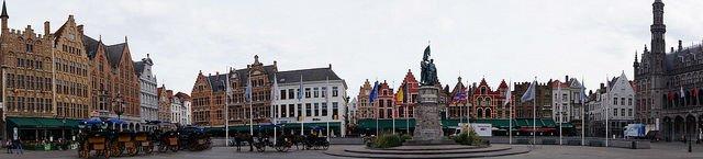 Bruges Belgium - Grote Markt