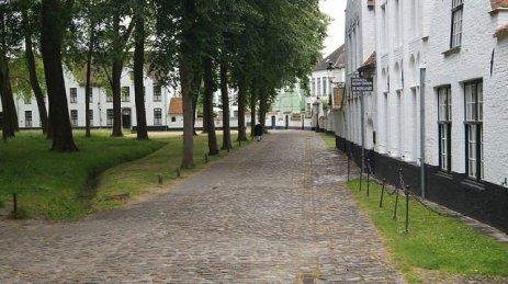 Bruges Belgium - the Begijnhof