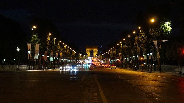 Paris France - Champs Elysees