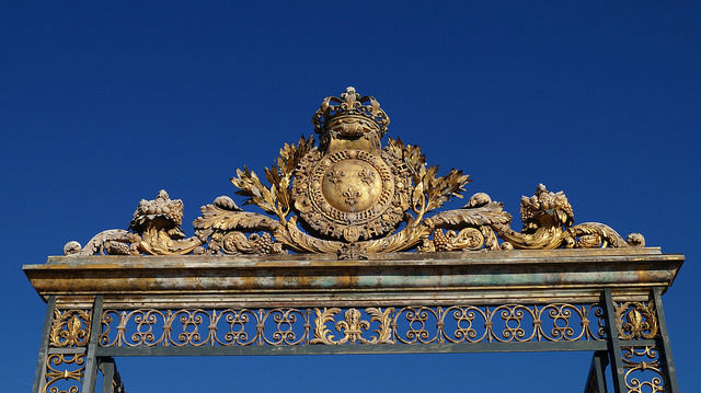 Paris France - Sun Gate at Versailles