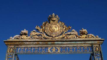 Paris France - Sun Gate at Versailles