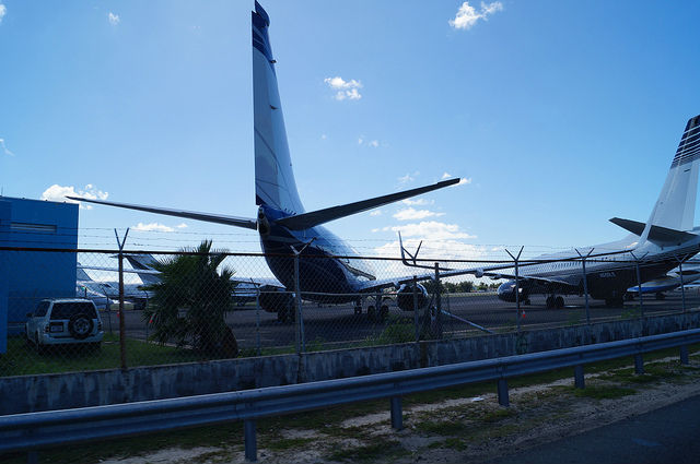 Airplanes-and-Beaches-in-St.-Maarten-Airplanes-at-Princess-Juliana-Airport