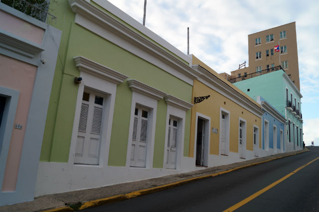 Discovering San Juan Puerto Rico - Colorful buildings of Old San Juan