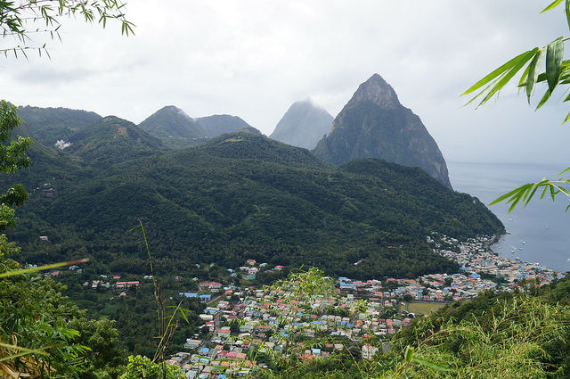 Exploring the Island of St. Lucia - Canaries and the Pitons