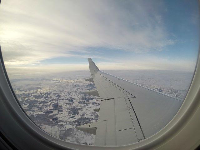 My Mini Minnesota Trip - Flying over Minnesota