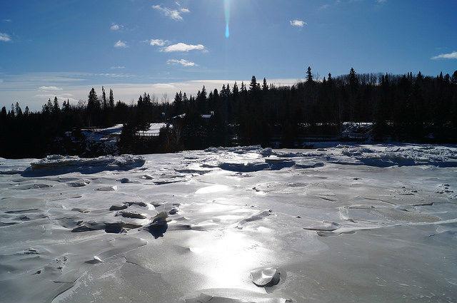 My Mini Minnesota Trip - Frozen Kakabeka Waterfall