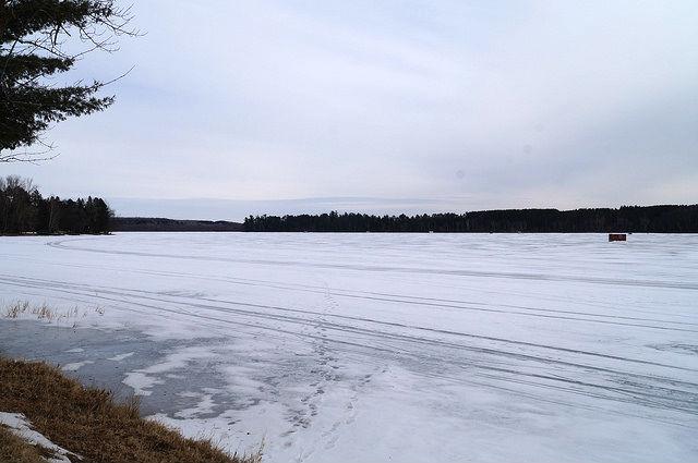 My Mini Minnesota Trip - Moose Lake with fishing cabins