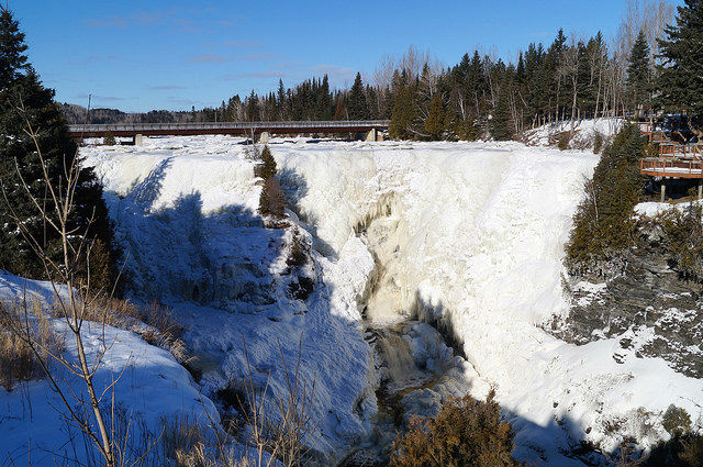 My Mini Minnesota Trip - Nearly Frozen Kakabeka Falls