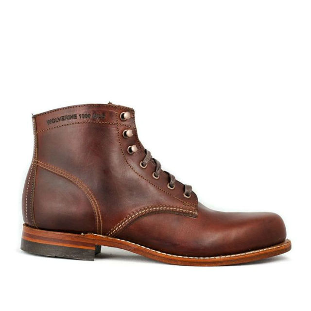 Stylish Mens Boots for Traveling - 2015 - Wolverine 1000 Mile Boots