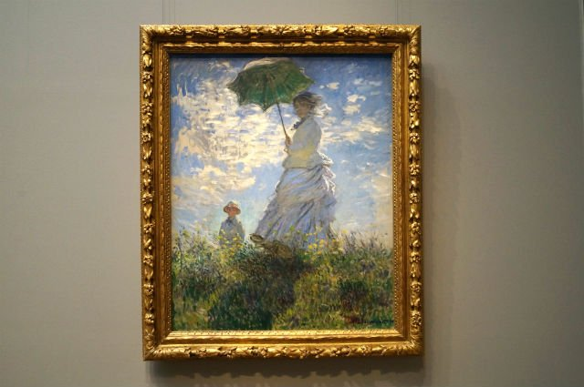 Highlights of Washington DC - La Promenade by Monet
