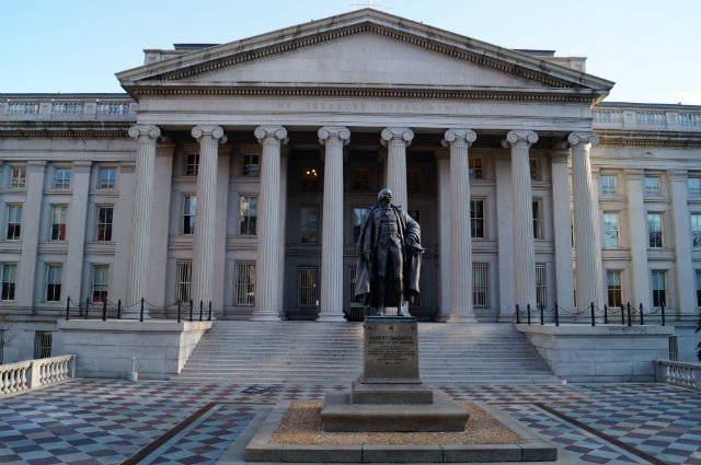 Highlights of Washington DC - US Treasury